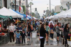 Santa Monica Farmers Market. Credit: Brian Champlin